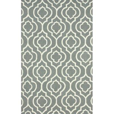 Earnest Grey Misha Rug Rug Size: 5 x 8