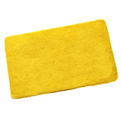 Arata Bath Rug Color: Yellow