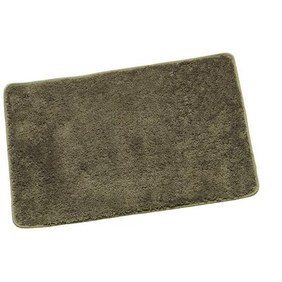 Arata Rectangle Bath Rug Color: Sage