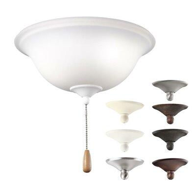 Alcott Hill 3-Light Bowl Ceiling Fan Light Kit