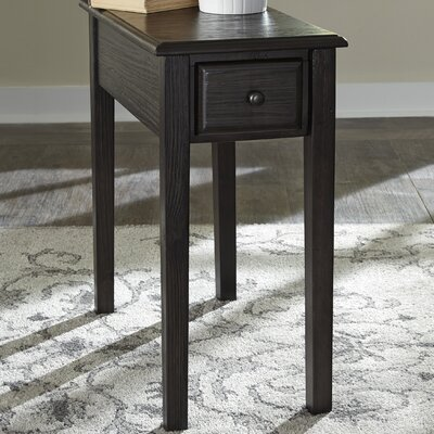 Dyana End Table Finish: Charcoal