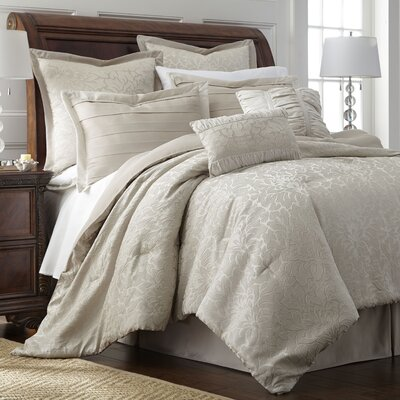 Edith 8 Piece Comforter Set Size: Queen