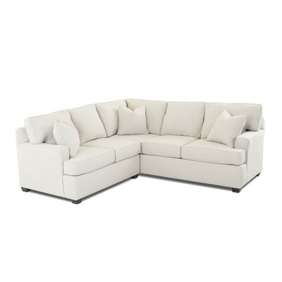 Edwina Sectional Upholstery: Oakley Ivory, Orientation: Right Hand Facing