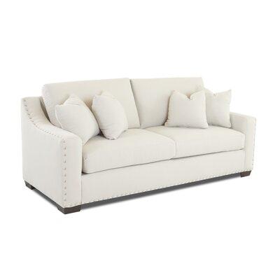 Elaine Loveseat Upholstery: Conversation Pearl