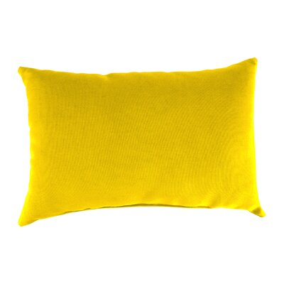 Briggs Outdoor Lumbar Pillow Fabric: Veranda Lemon