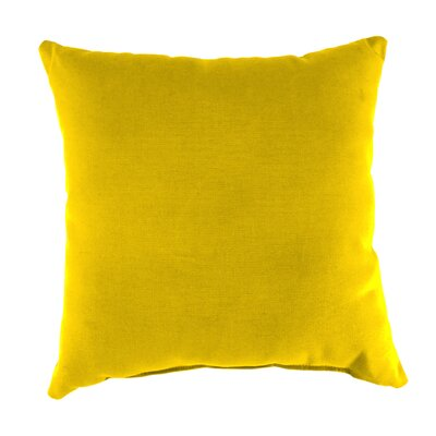 Blair Outdoor Throw Pillow Fabric: Veranda Lemon