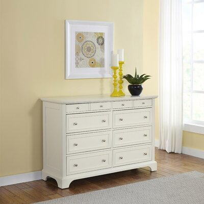 Lafferty 8 Drawer Double Dresser