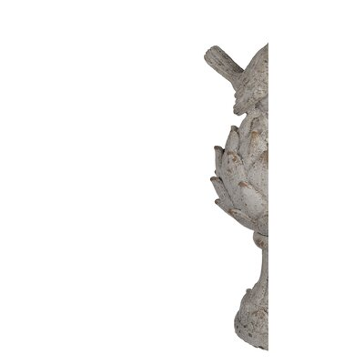 Rustic Hand crafted Bird Statue (Set of 2)