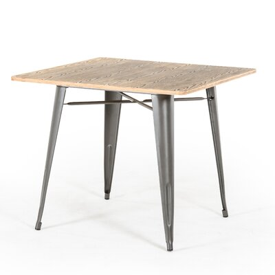 Spurling Metal and Wood Dining Table