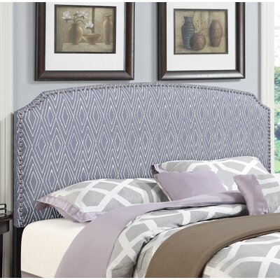 Bristol Woods Upholstered Panel Headboard Size: Full/Queen