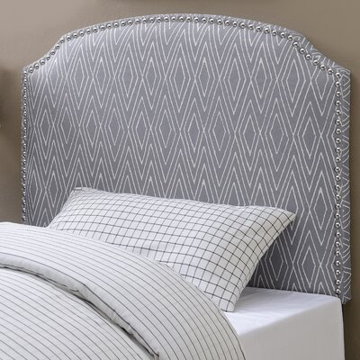 Bristol Woods Upholstered Panel Headboard Size: Twin