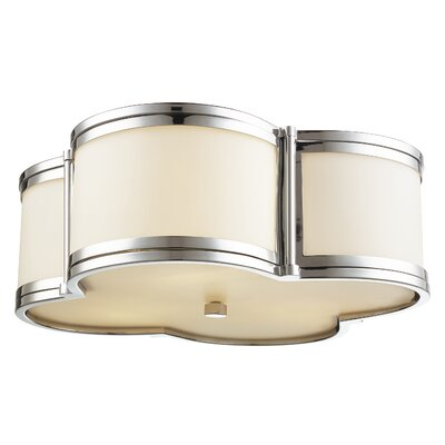 Alvina 3-Light Flush Mount