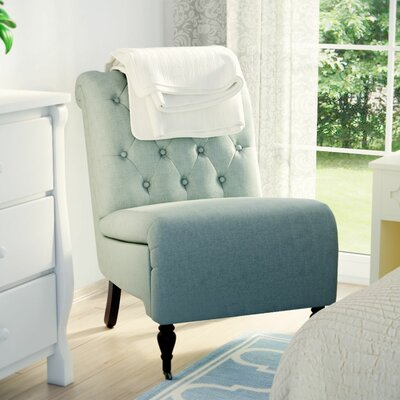 Columbus Roll Back Tufted Side Chair