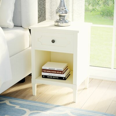 Fredericktown End Table Color: White