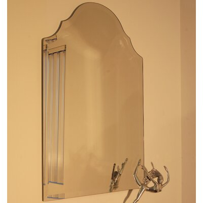 Regal Frameless Mirror Size: 36 H x 24 W