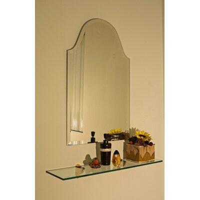 Bristol Frameless Wall Mirror Size: 32 H x 20 W