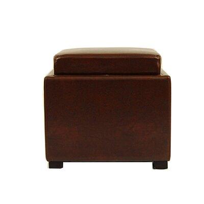 Ashbury Storage Ottoman Upholstery: Cordovan