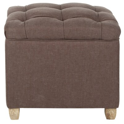 Eau Claire Ottoman Upholstery: Brown