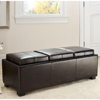 Dogwood Ottoman Upholstery: Black