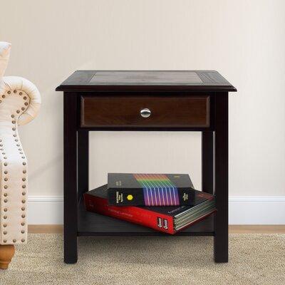 Ambudkar End Table With Storage