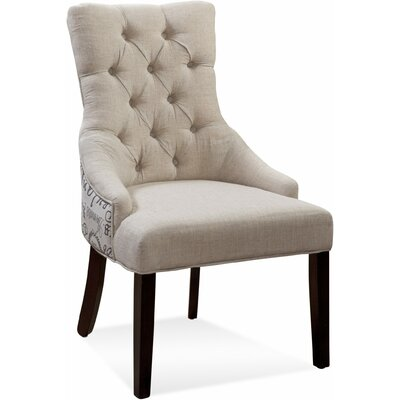Ahearn Tufted Nailhead Parson Side Chair (Set of 2)