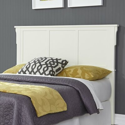 Ferryhill Queen Panel Headboard Color: White