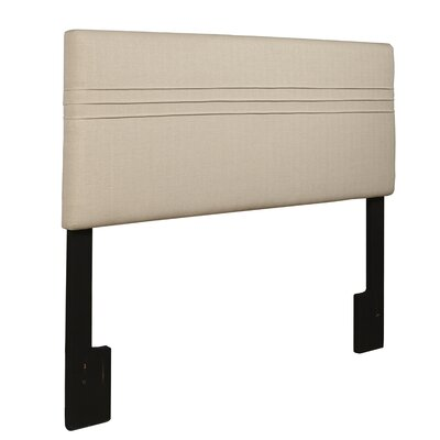 Amenia Upholstered Panel Headboard Size: King/California King, Upholstery: Hayden Silver