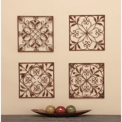 Montagu 4 Piece Wall Décor Set