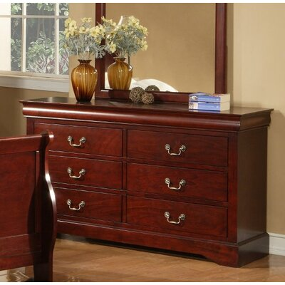 Homestead 6 Drawer Double Dresser