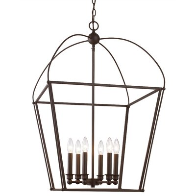 Gladding 6-Light Foyer Pendant Finish: Oil Rubbed Bronze