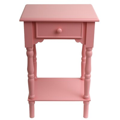 Eagan End Table Color: Pink