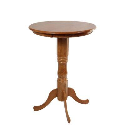 Amundson Round Fruitwood Pub Table