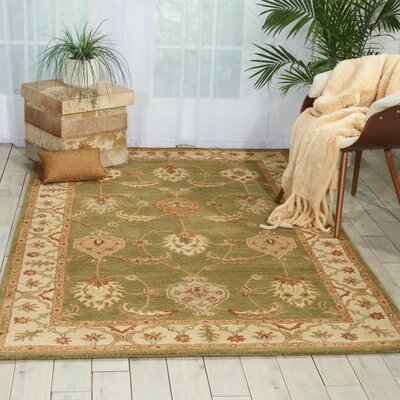 Harmonsburg Hand-Woven Kiwi Area Rug Rug Size: Rectangle 5 x 8