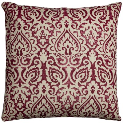 Brasstown Throw Pillow Color: Red
