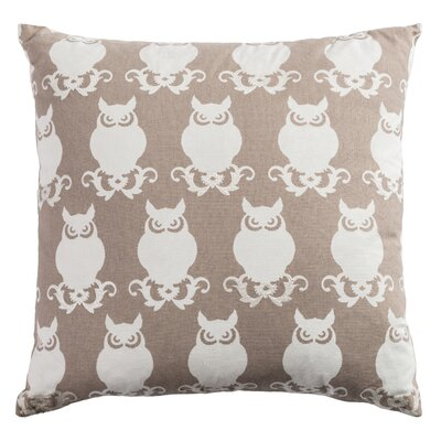 Winchester Cotton Duck Throw Pillow Color: Taupe