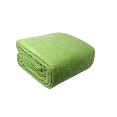 Pencewood Fleece Blanket Size: King, Color: Sage