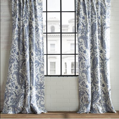 Ramblewood Semi-Opaque Curtain Panel