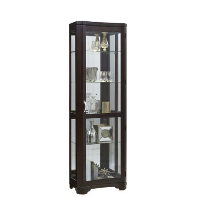 Rockford Lighted Curio Cabinet