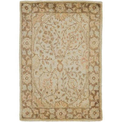 Anderle Beige Area Rug Rug Size: Rectangle 2 x 3