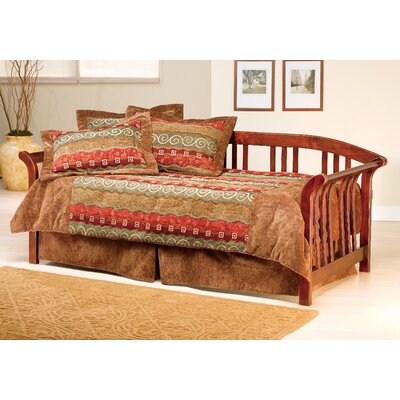 Baptist Daybed Finish: Brown Cherry, Accessories: No Trundle