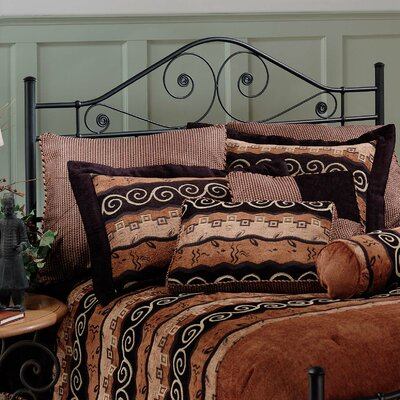 Baptist Open-Frame Headboard Size: Queen