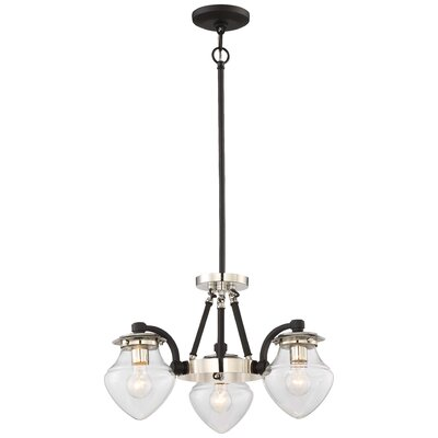 Bachus 1-Light Semi Flush Mount