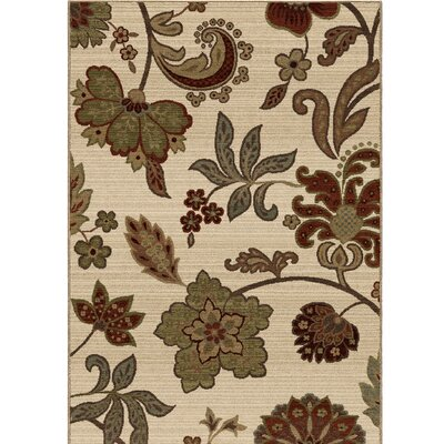 Amini Spring Bloom Beige Area Rug