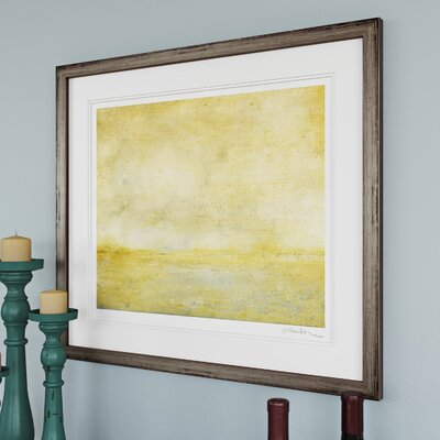 River IV Framed Painting Print