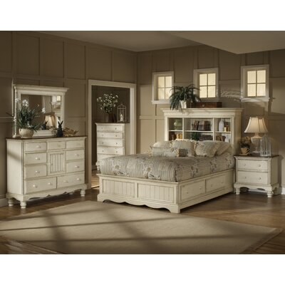 Baptist Storage Platform Customizable Bedroom Set