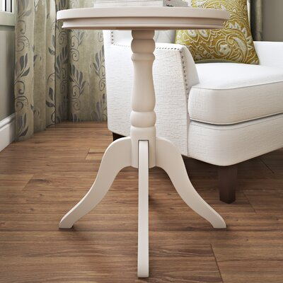 Christopher End Table Color: White