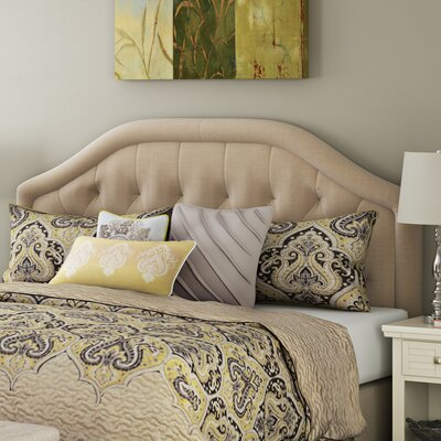 Brook Farm King Upholstered Headboard Upholstery: Dark Beige