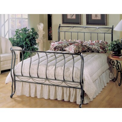 Baptist Sleigh Bed Size: Twin