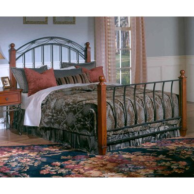 Baptist Wood Post Bed Size: King