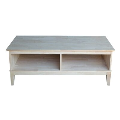 Sommerville Rectangular Coffee Table with Divider